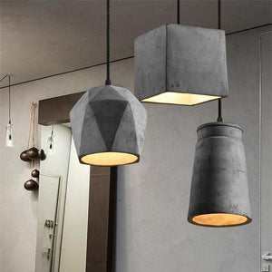 Nordic Cement Pendant Lights