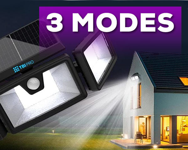 Security Solar Lights Outdoor 216 LED 2 pack