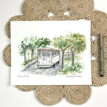 Load image into Gallery viewer, The Trolley, Savannah , GA
