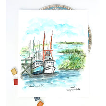 Load image into Gallery viewer, Shem Creek, Mount Pleasant, SC