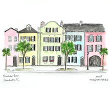 Load image into Gallery viewer, Rainbow Row, Charleston, SC