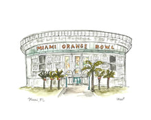 Load image into Gallery viewer, Miami Orange Bowl