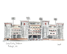 Load image into Gallery viewer, North Carolina State University Stadium