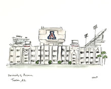 Load image into Gallery viewer, University of Arizona Stadium