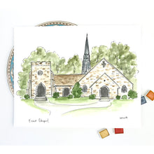 Load image into Gallery viewer, Berry College, Frost Chapel