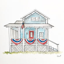 Load image into Gallery viewer, Custom House Portrait. Realtor Closing Gift. Housewarming Gift. New Home Gift. Watercolor Home Portrait. Watercolor Hand drawn Illustration