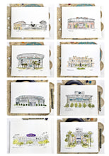 Load image into Gallery viewer, Custom house portrait. Watercolor illustration. Hand drawn new home gift, moving gift, first home gift