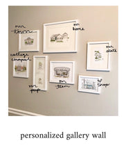 Load image into Gallery viewer, Gallery Wall Personalized Historic Museum, Fayetteville, Georgia, Archival Quality 8x10 print