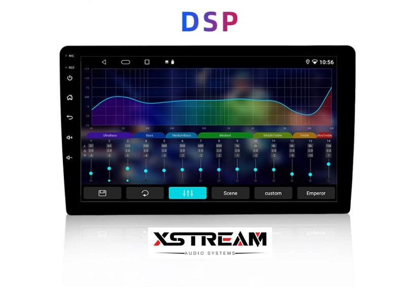 "9/10"" Universal double din android 10 radio With wireless Apple CarPlay/Android auto+DSP 2G/32G - Xstream audio systems"
