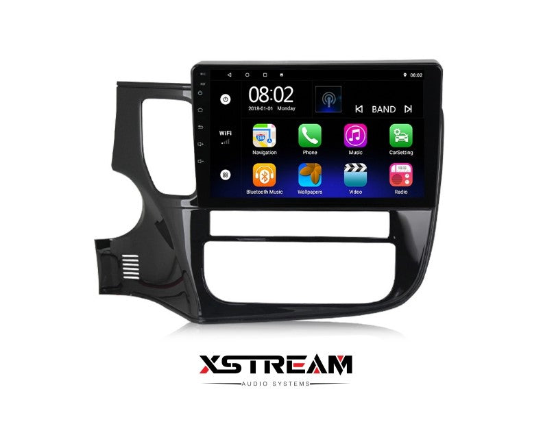 "10"" Mitsubishi Outlander 2015-2017 Android 10 QUAD CORE - Xstream audio systems"