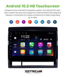"9.1"" Toyota Tacoma 2005-2013 Android 10 QUAD CORE - Xstream audio systems"