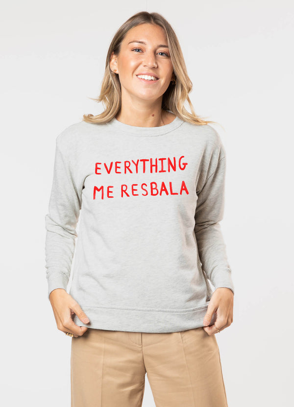 Sudadera EVERYTHING ME RESBALA