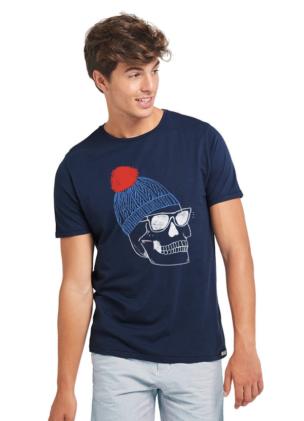 Camiseta CALAVERA WOOL HAT