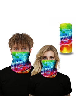 Splash Ink Breathable Face Bandana Magic Scarf Headwrap Balaclava