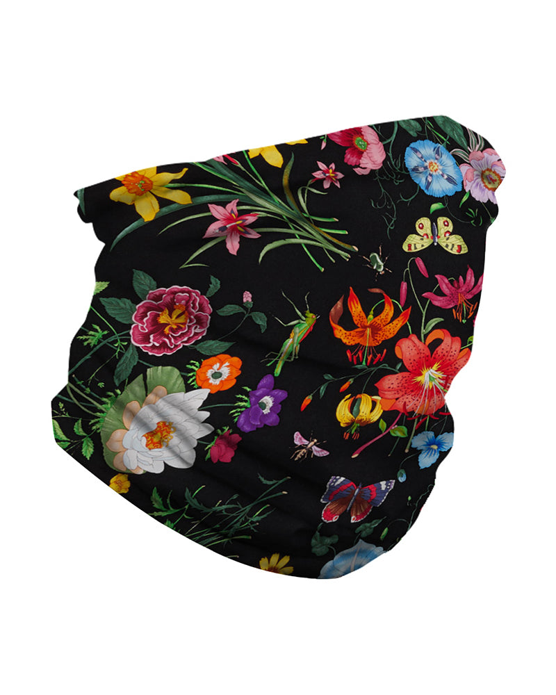 Floral Print Face Breathable Bandana Magic Scarf Headwrap Balaclava