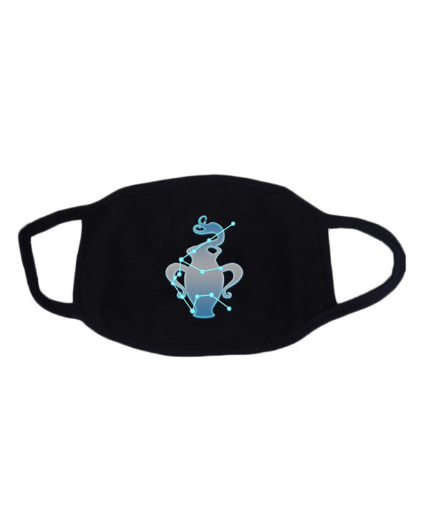Twelve Constellations Fluorescent Breathable Mouth Mask Washable And Reusable