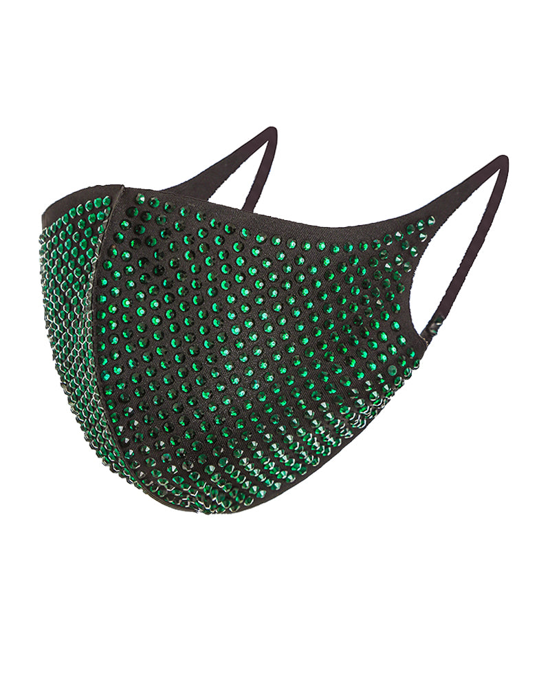 Studded Glitter Breathable Ear Loop Mouth Mask Reusable