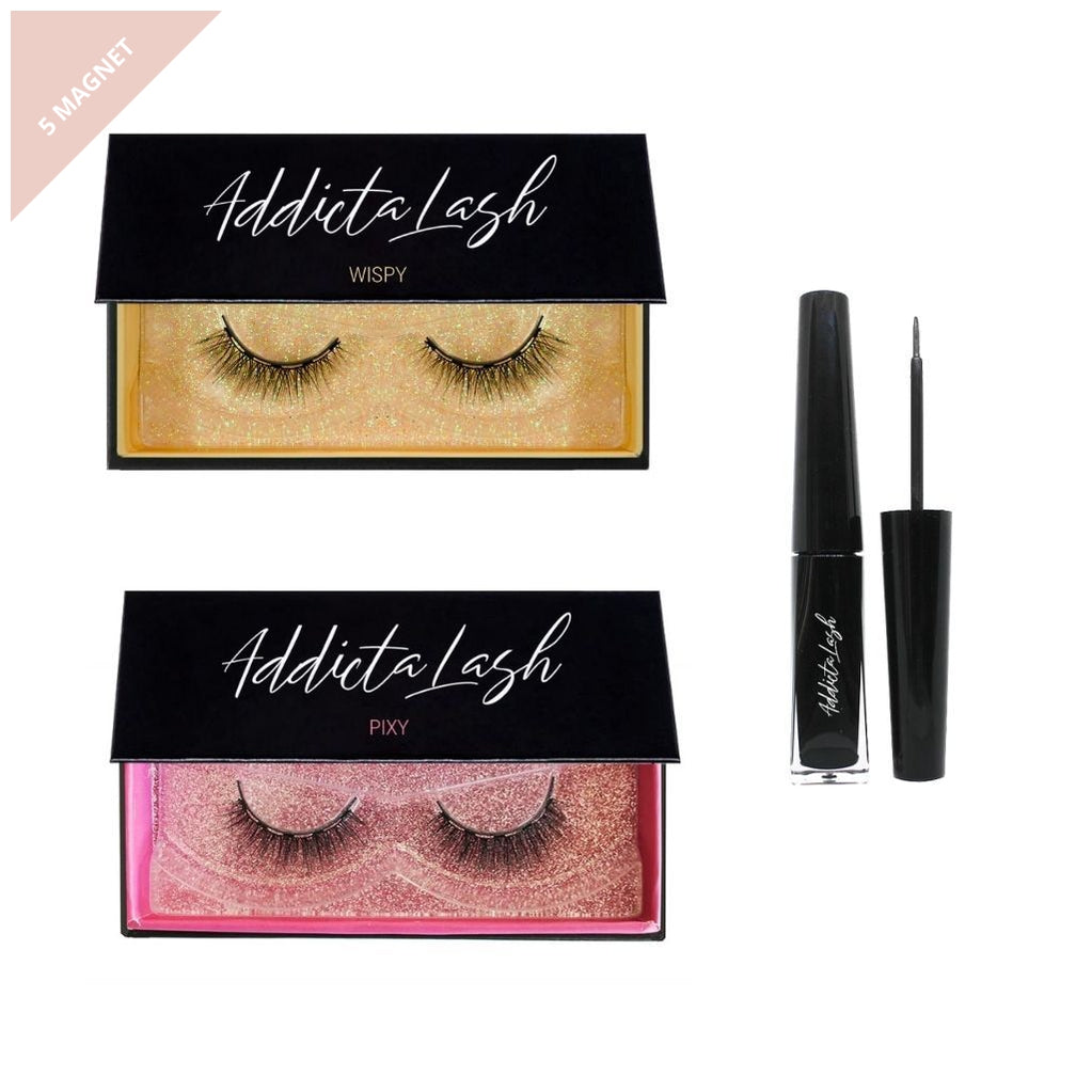 Natural Magnetic Lash Kit-Addictalash-australia-buy