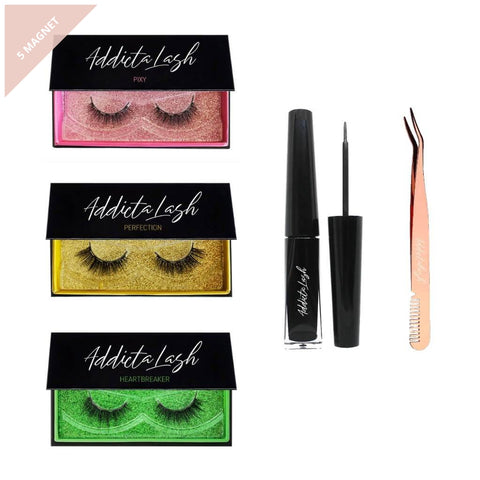 Love Magnetic Lash Kit-Addictalash-australia-buy