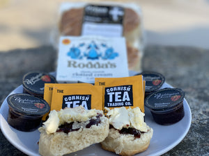 (NEW) Gluten Free Cornish Cream Tea 1 -4 People