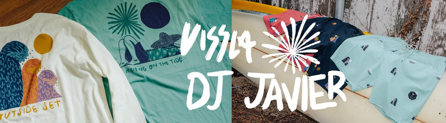 Vissla Outside sets - DJ. Javier collection