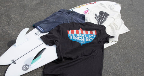 Vissla made for Beach Grit