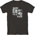 Lost Surf Vids Tee Vintage Black