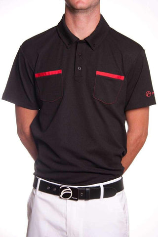 Fayde Dual polo shirt - black