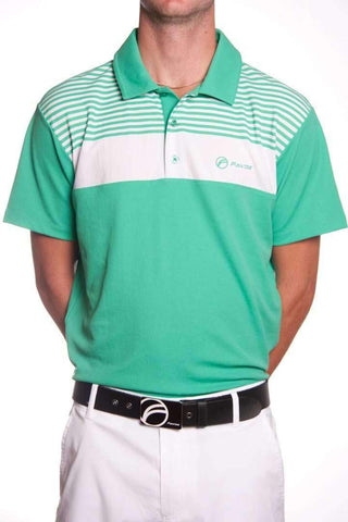 Fayde Lines polo shirt - mint green