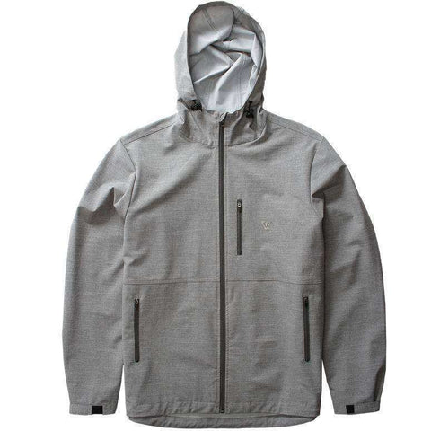 Vissla 7 SEAS WINDBREAKER grey Jacket www.remixd.co.uk Vissla