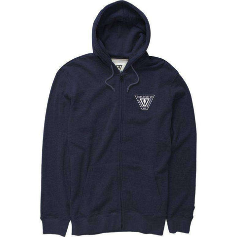 Vissla INTERSTATE ZIP hood navy hooded sweat www.remixd.co.uk Vissla
