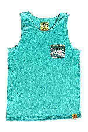 Team Phun Hawaiian pocket tank top