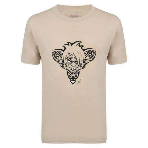 Surf Ratz Rat Tatt kids T-shirt – Sand - www.remixd.co.uk