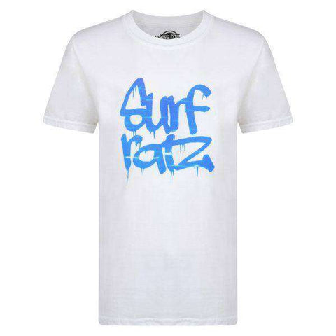 Surf Ratz Water Kids T-shirt – White - www.remixd.co.uk