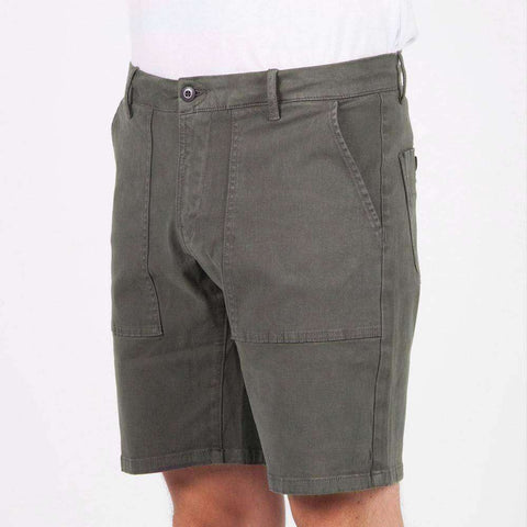 Passenger Forge short - charcoal - www.remixd.co.uk