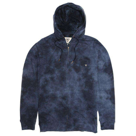 Vissla Ash zip hood - navy - www.remixd.co.uk