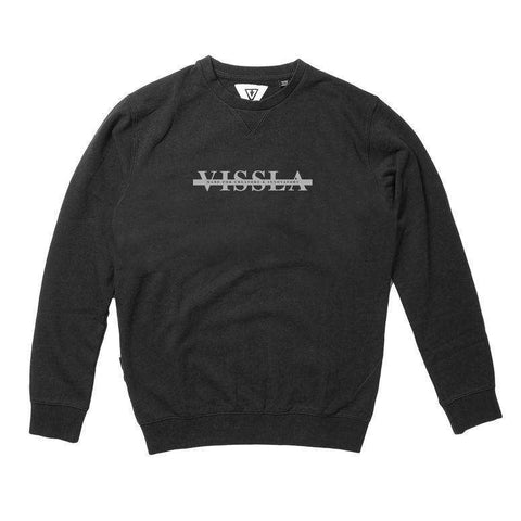 vissla strands crew sweatshirt - phantom - www.remixd.co.uk