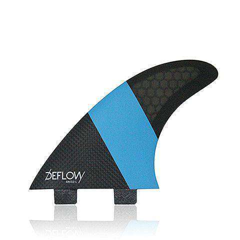 Deflow Arcco large thruster fins shortboard fin www.remixd.co.uk Deflow