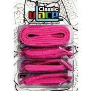 U-lace Hot pink shoe laces