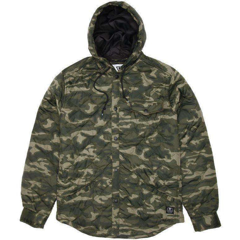 Vissla Cronkite camo hooded jacket jacket www.remixd.co.uk