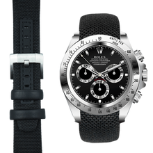 Load image into Gallery viewer, Everest Curved End Nylon Strap with Tang Buckle for Rolex Sports Models