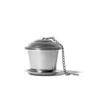 Stainless Steel Infuser - Silver - Tea of Mine