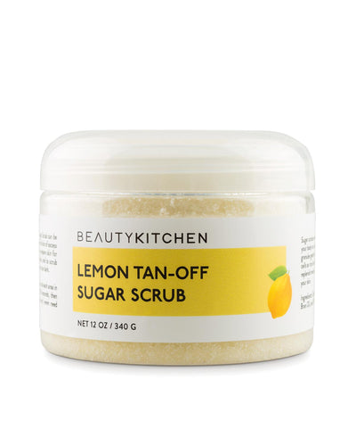 Lemon Tan-Off Sugar Scrub