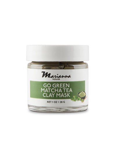 Go Green Matcha Tea Clay Mask