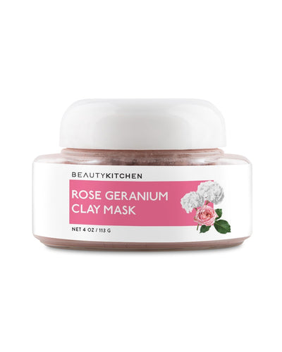 Rose Geranium Clay Mask