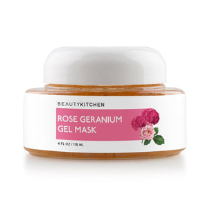 Rose Geranium Aloe Gel Mask