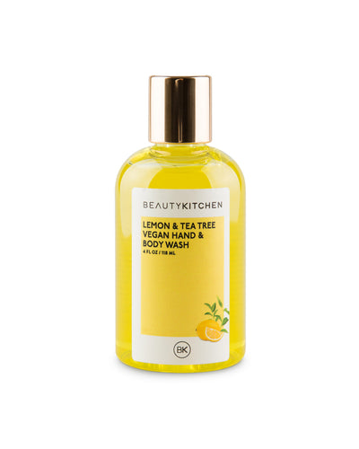 Lemon & Tea Tree Vegan Hand & Body Wash