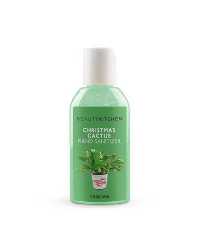Christmas Cactus Hand Sanitizer