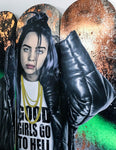 Billie Eilish Good girls go to hell skateboard decks by Mr Sly