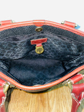 Load image into Gallery viewer, Mulberry Vintage Scotch Grain Black Small Grab Bag